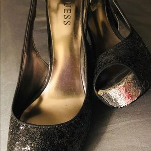 Guess Shoes - Guess party platform heels, 91/2